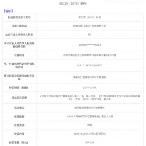 """京东旗下支付公司""""网银在线""""被罚近三千万"""