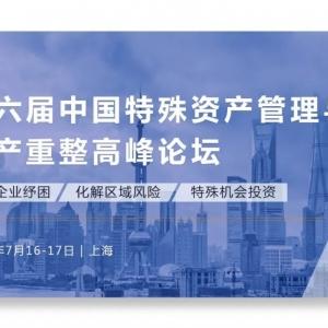 第六届中国特殊资产管理与破产重整高峰论坛